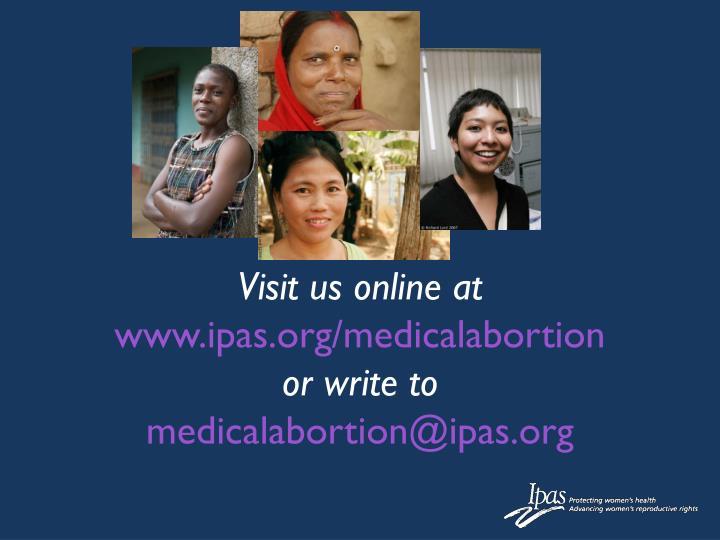 Visit us online at