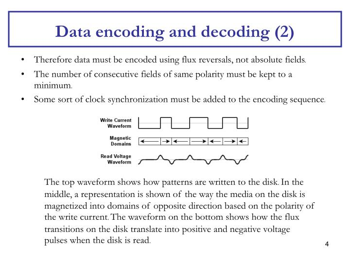 Data encoding and decoding (2)