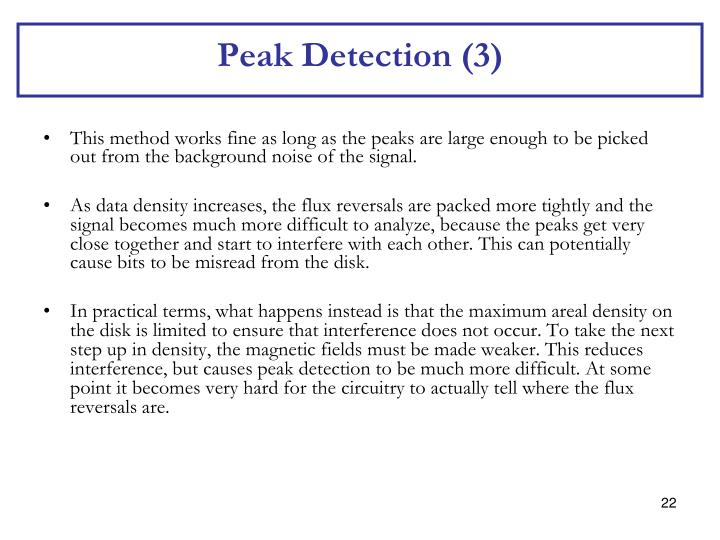 Peak Detection (3)