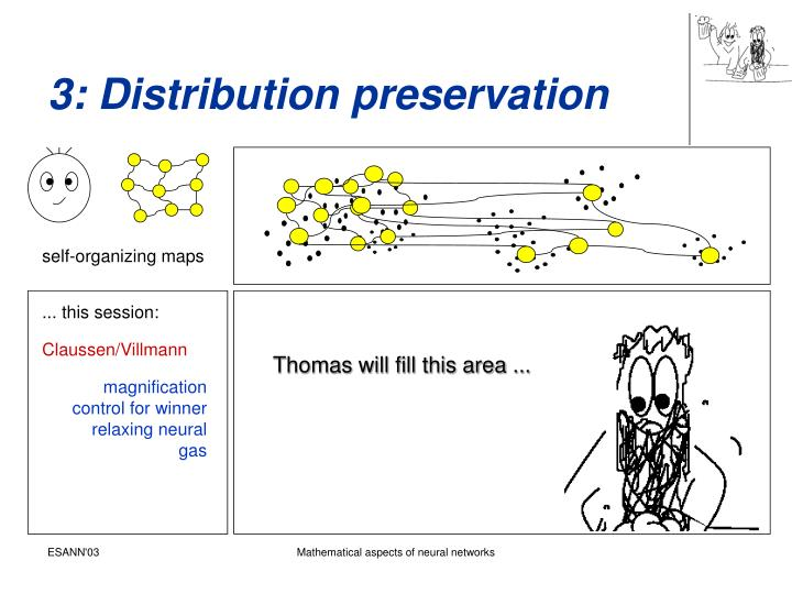 3: Distribution preservation