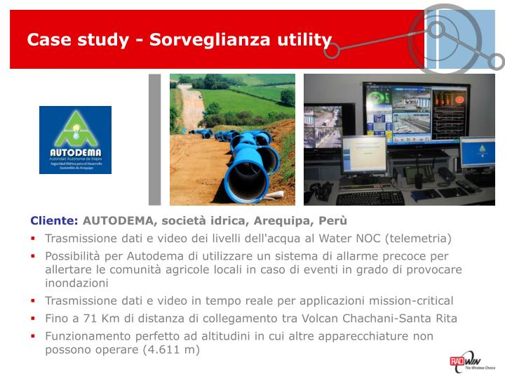 Case study - Sorveglianza utility