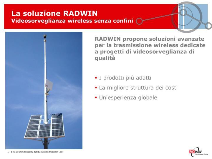 La soluzione RADWIN