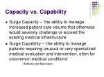 capacity vs capability