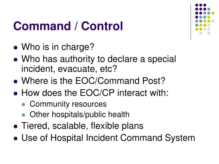 Command / Control