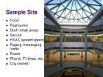 sample site1