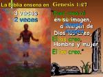 la biblia ensena en