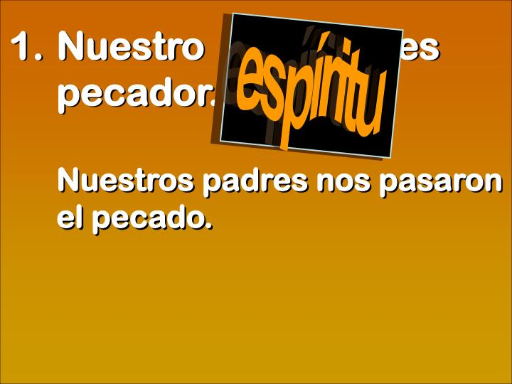 espíritu