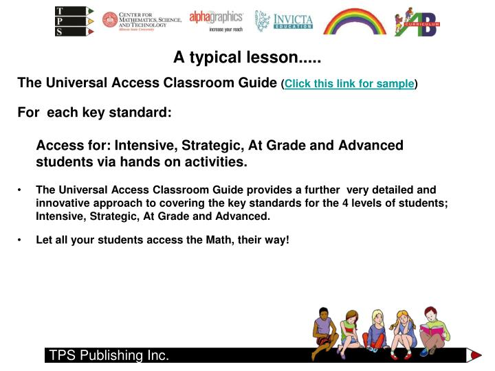 The Universal Access Classroom Guide