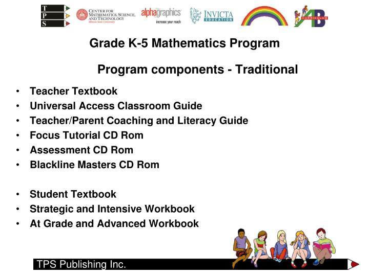 Program components - Traditional
