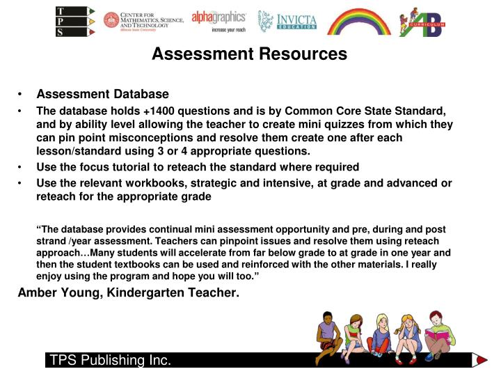 Assessment Database