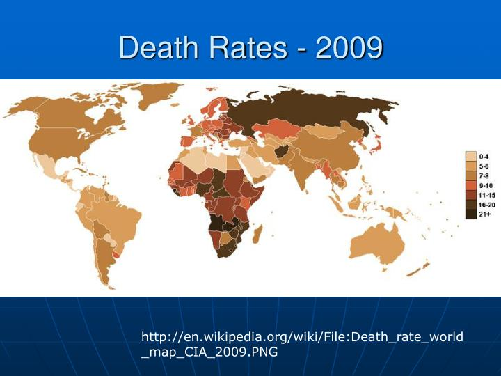 Death Rates - 2009