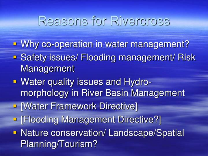 Reasons for Rivercross