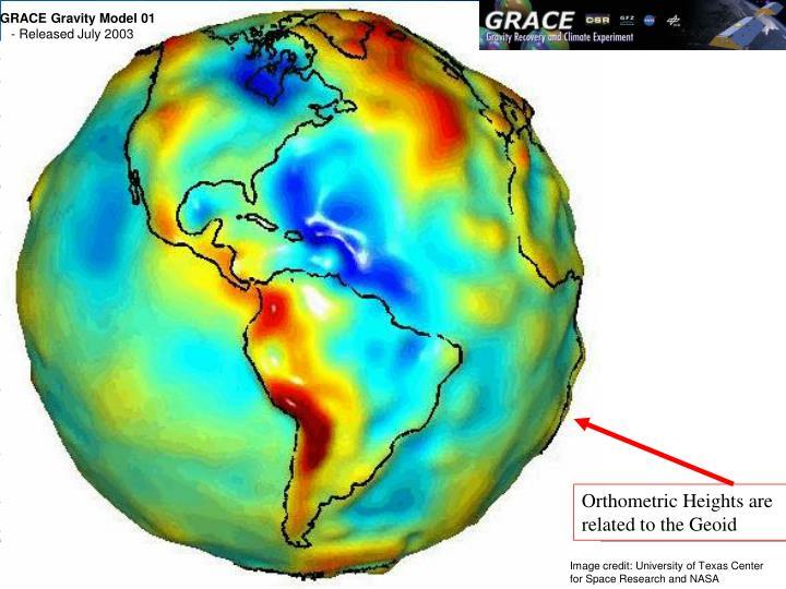 GRACE Gravity Model 01