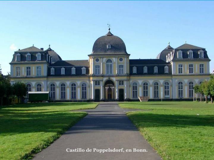 Castillo de Poppelsdorf, en Bonn.