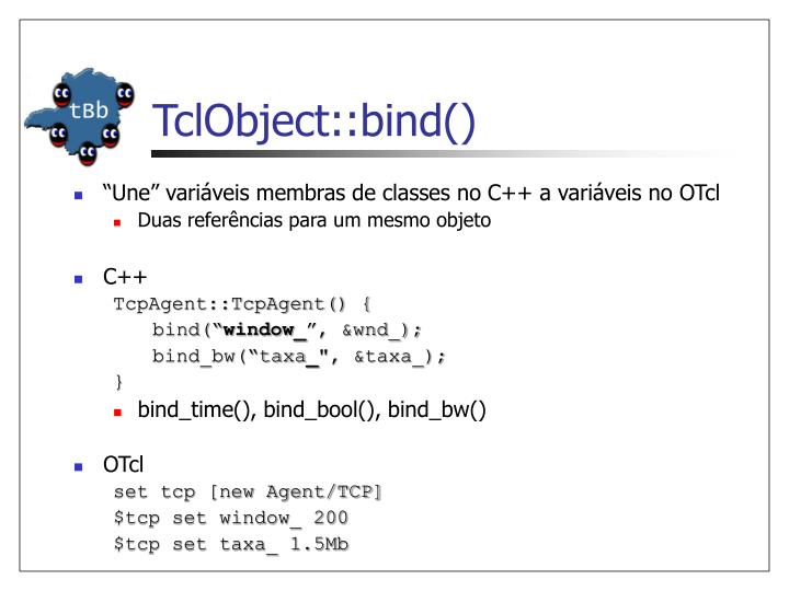 TclObject::bind()