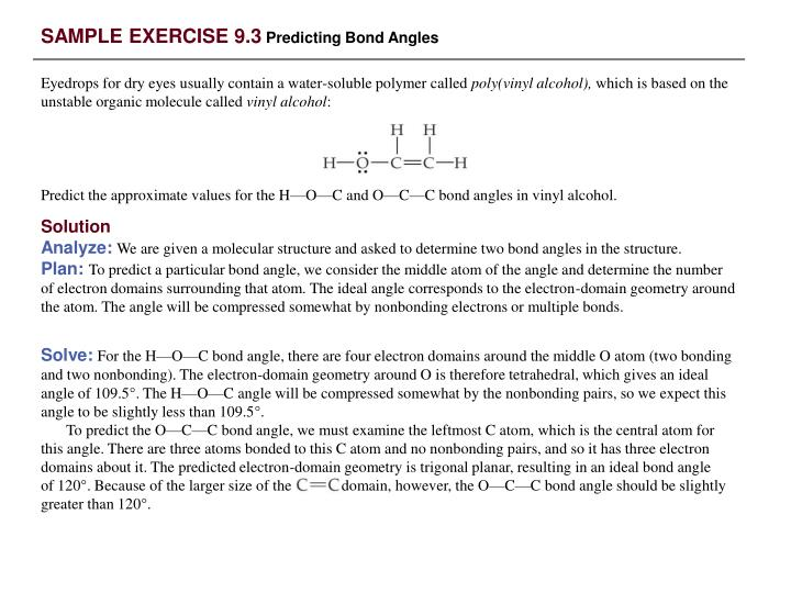 SAMPLE EXERCISE 9.3