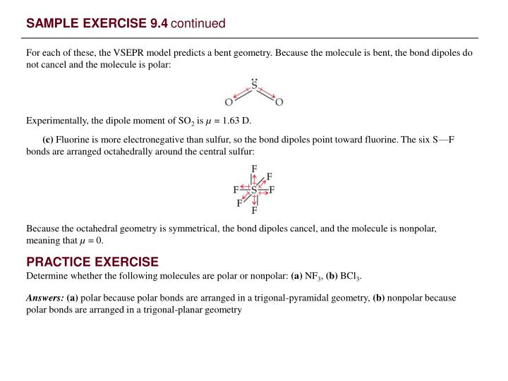 SAMPLE EXERCISE 9.4