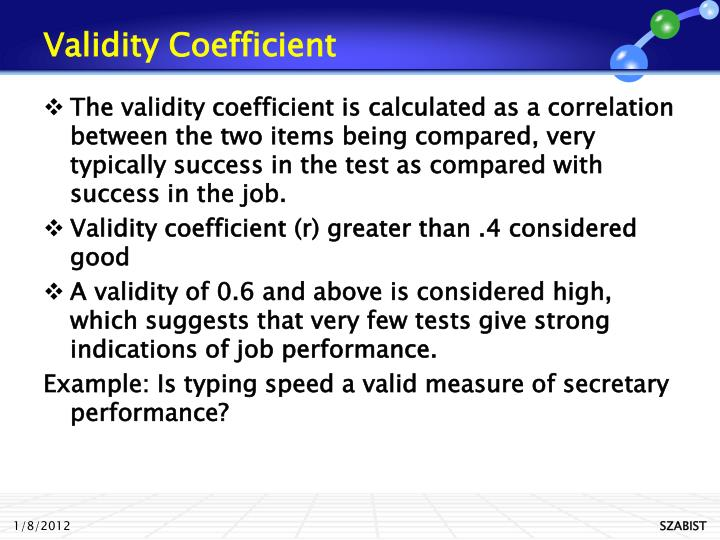 validity and reliability of interview as