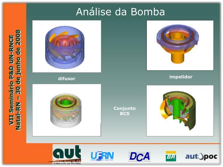 Análise da Bomba