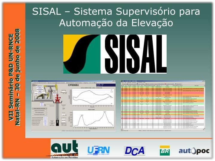 SISAL – Sistema Supervisório para Automação da Elevação