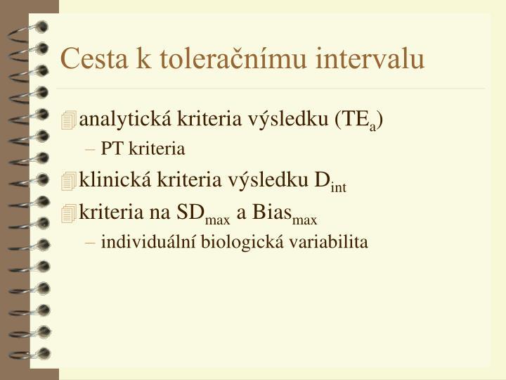analytická kriteria výsledku (TE