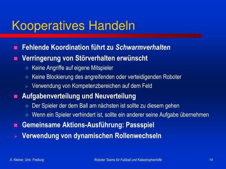 Kooperatives Handeln
