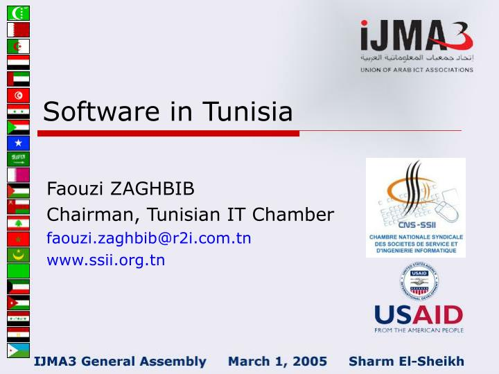 Software in tunisia