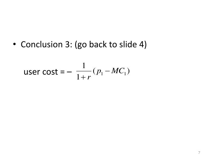 Conclusion 3: (go back to slide 4)