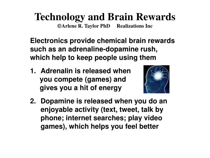 Technology and Brain Rewards