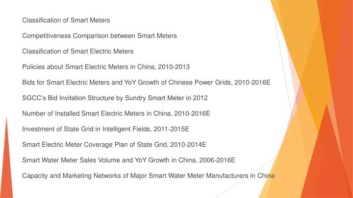 Classification of Smart Meters