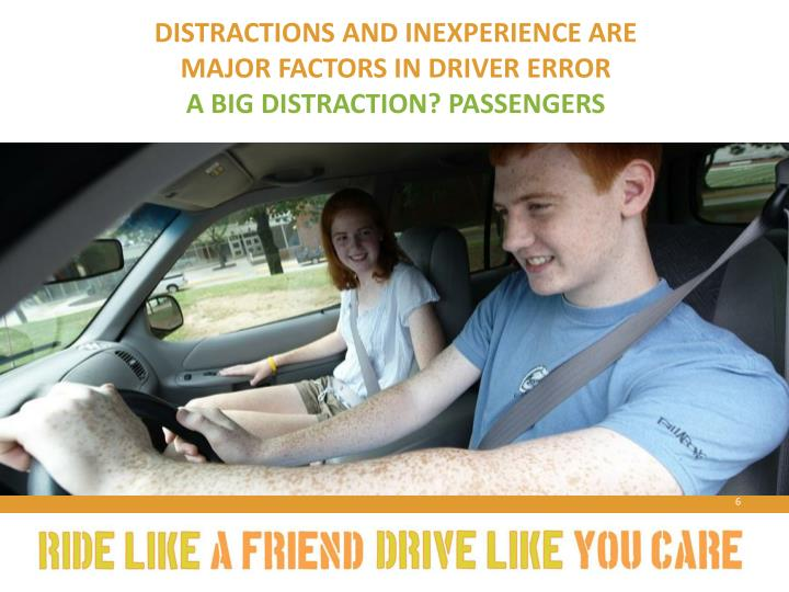 Distractions and Inexperience Are