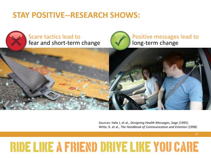 Stay positive--research shows: