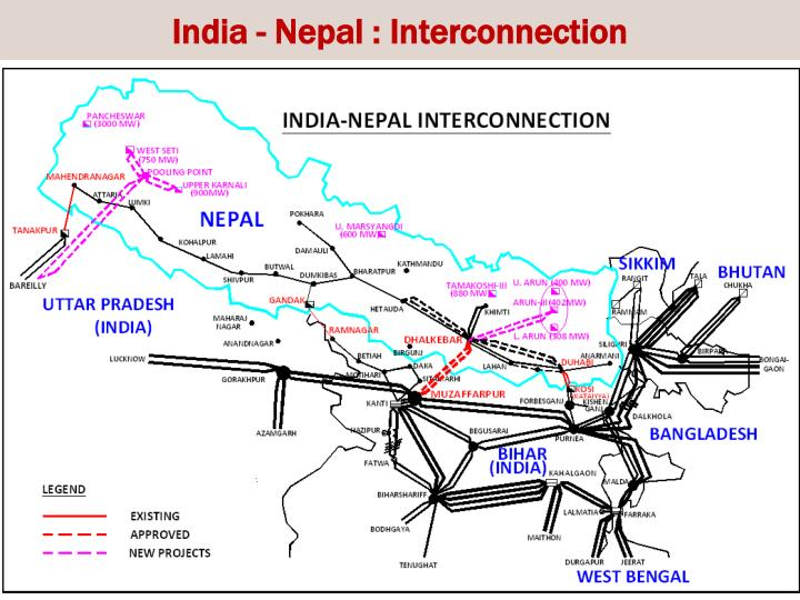 India - Nepal : Interconnection