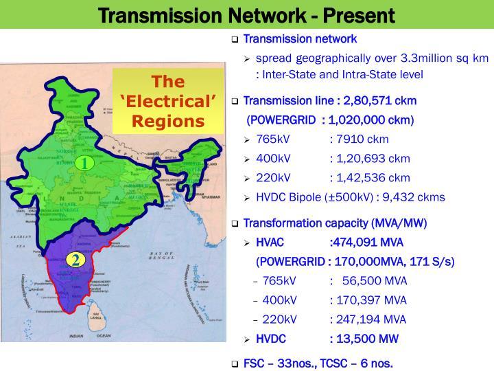 Transmission Network - Present