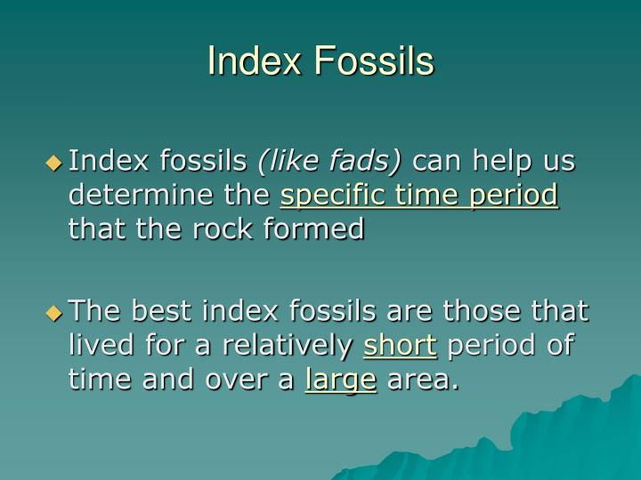 Index Fossils