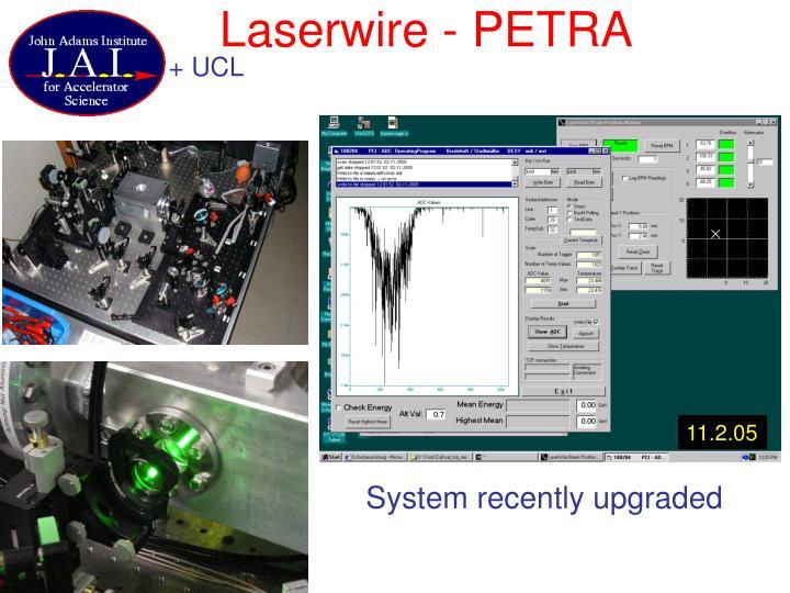 Laserwire - PETRA