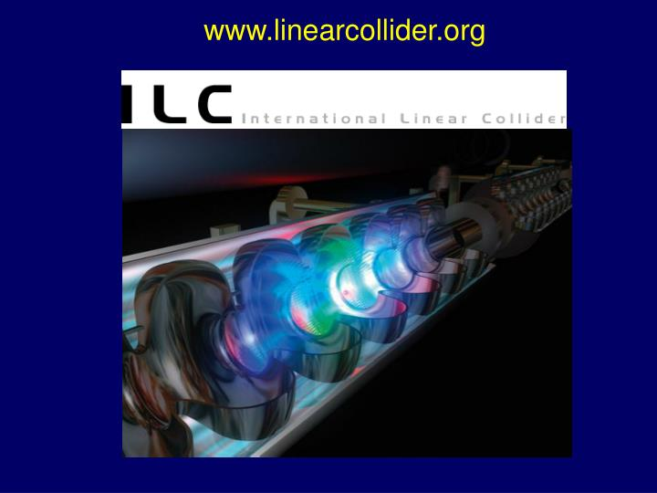 www.linearcollider.org