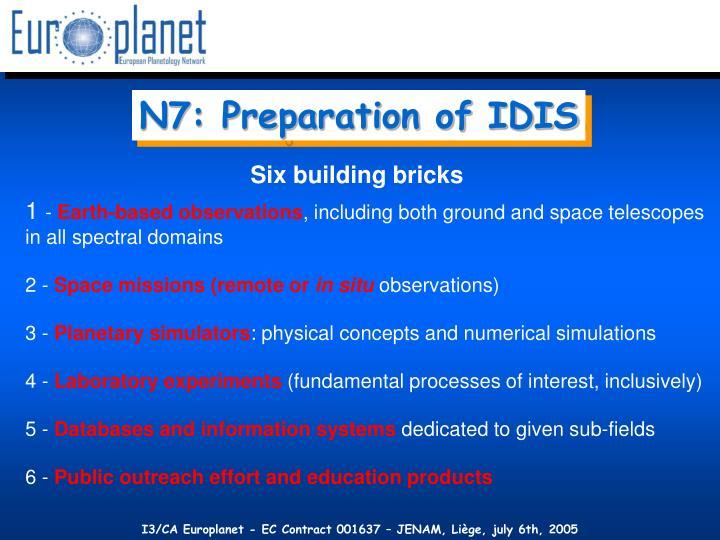 N7: Preparation of