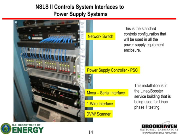NSLS II Controls System Interfaces to