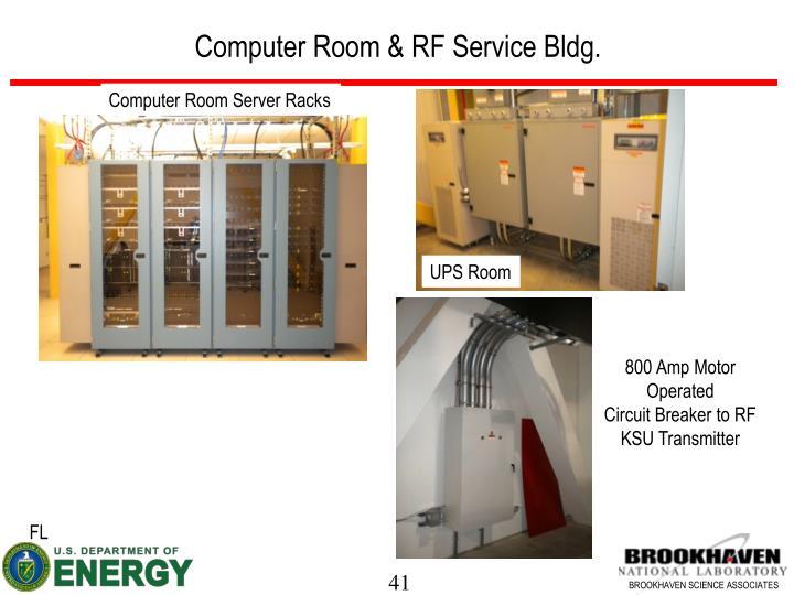 Computer Room & RF Service Bldg.