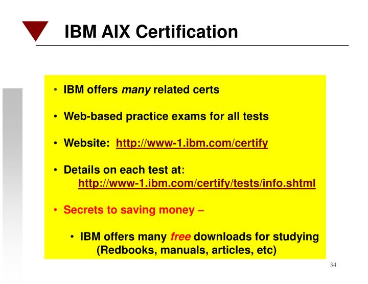 IBM AIX Certification