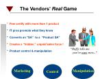 the vendors real game