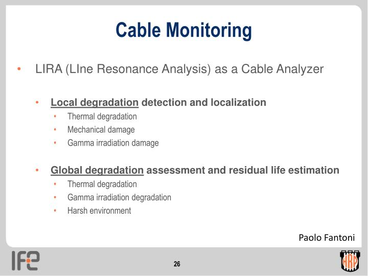 Cable Monitoring
