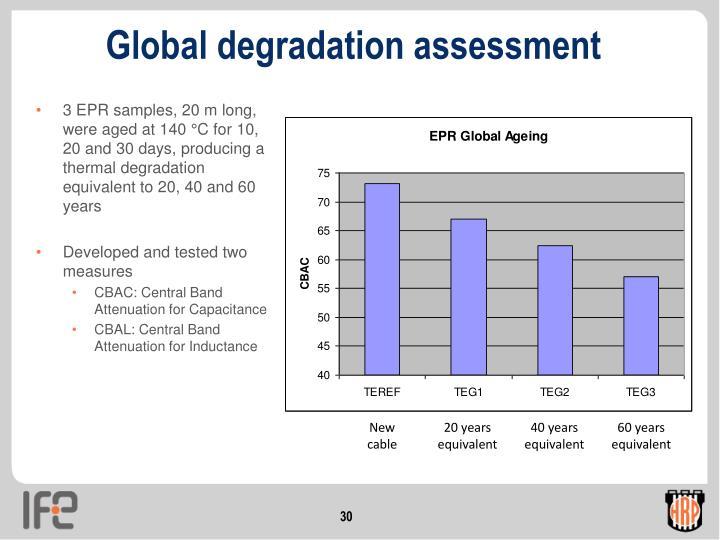Global degradation assessment