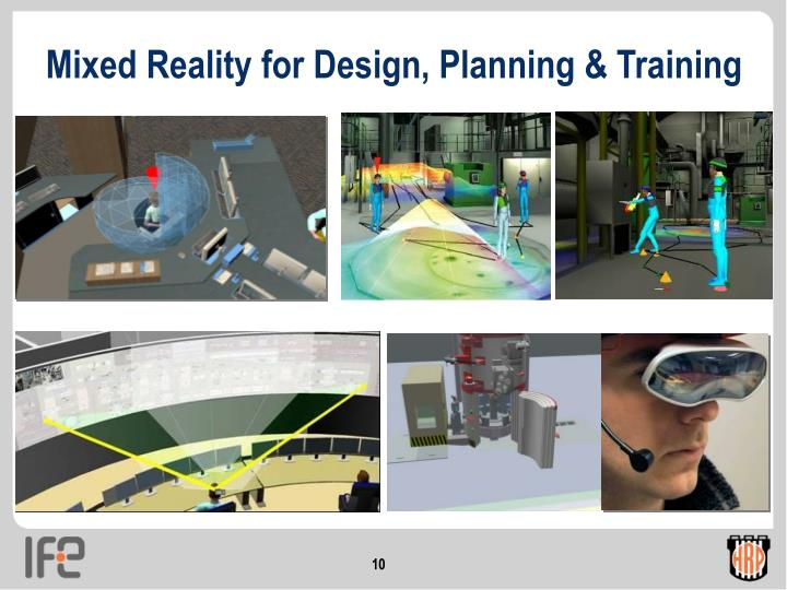 Mixed Reality for Design, Planning & Training