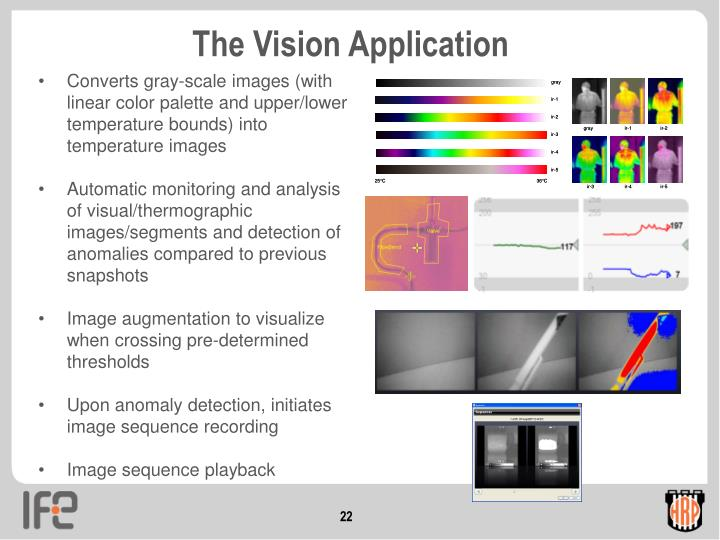 The Vision Application