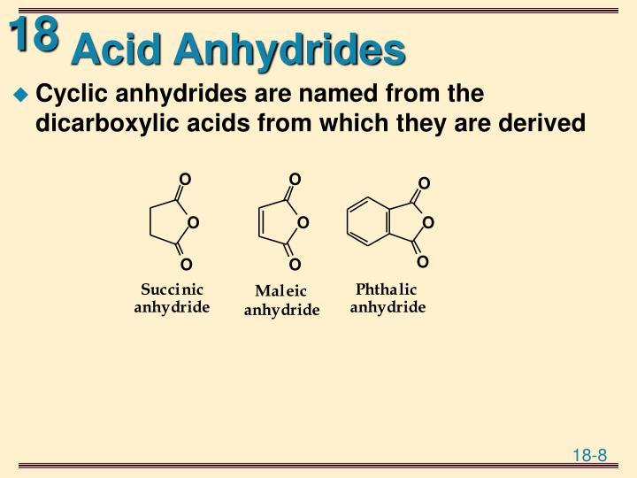Acid Anhydrides