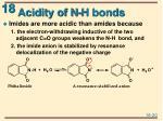 acidity of n h bonds1