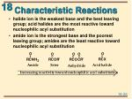 characteristic reactions2