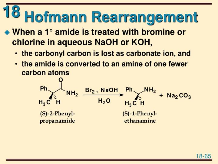 Hofmann Rearrangement